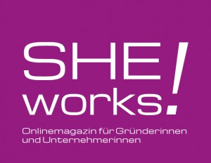 SHE works! Logo