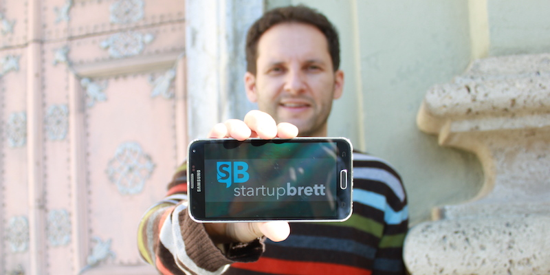 Über StartupBrett – Gründer Lukas Herbst