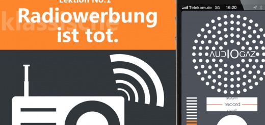 Radiowerbung einfach anders mit audioGAZ