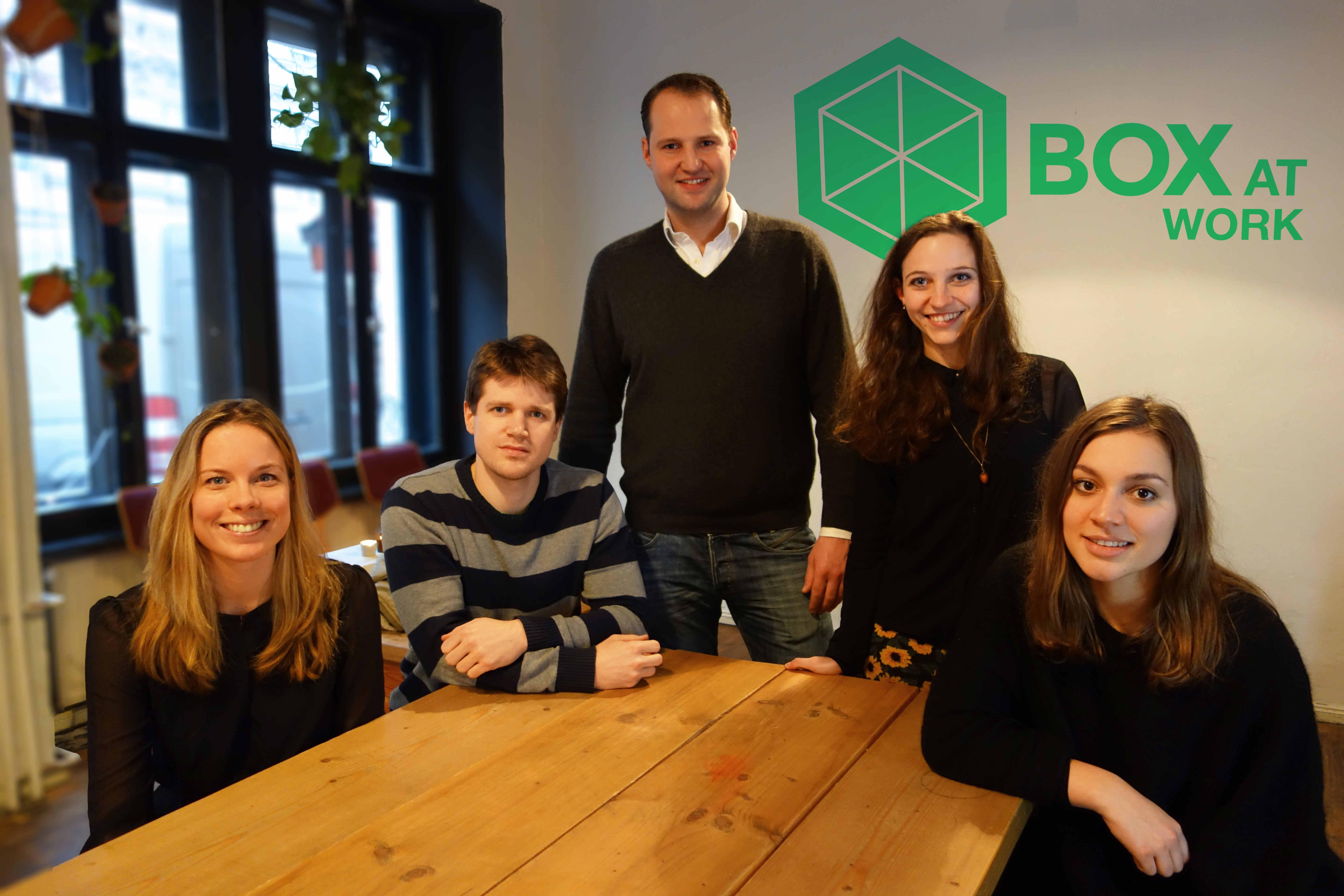 Box at Work - Shareconomy goes Umzugsbox - StartupBrett