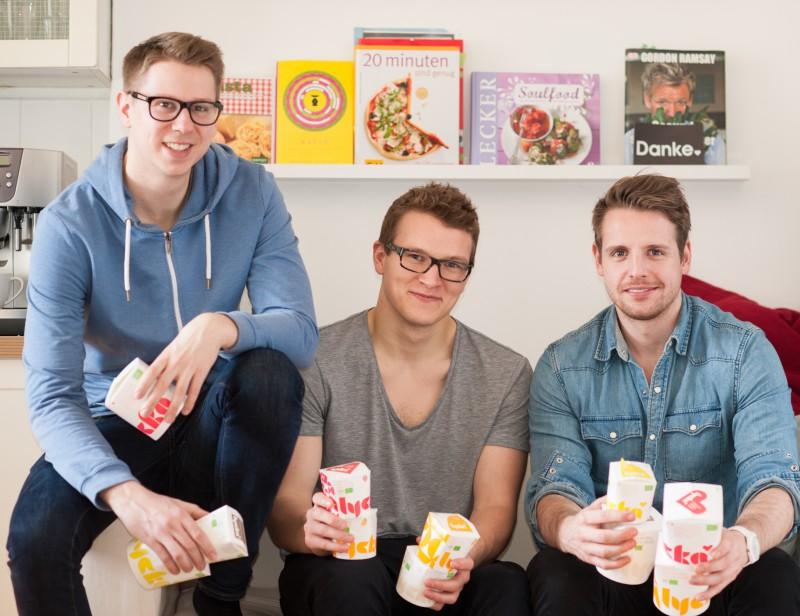 purefood - Lycka Gründer Sven - Felix - Johannes - StartupBrett