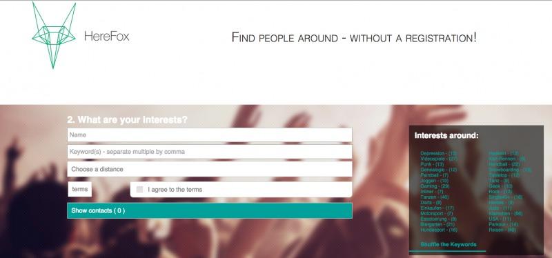 HereFox - StartupBrett