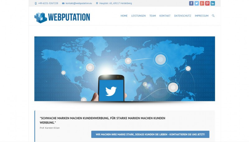 WEBPUTATION - Agentur für Digital-Marketing & Reputationsmanagement - StartupBrett