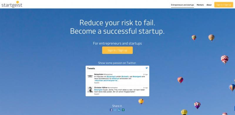 startgeist - StartupBrett