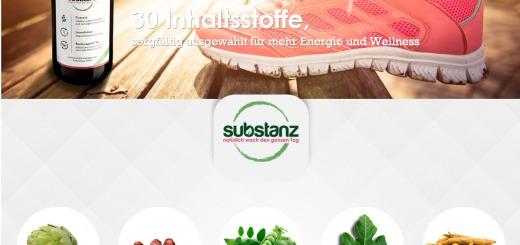 substanz Drink - Natural Vitalizer - StartupBrett