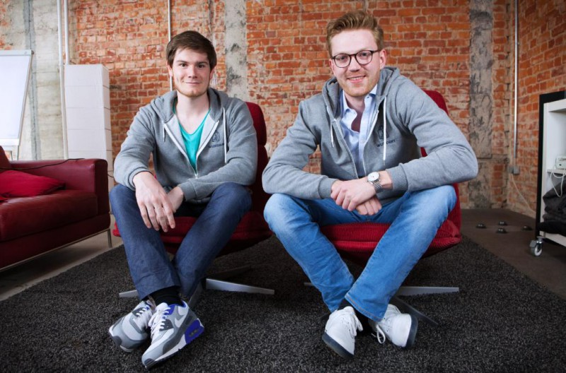 Daniel Stooß und Philipp Frank, Gründer der WUNDERY GmbH