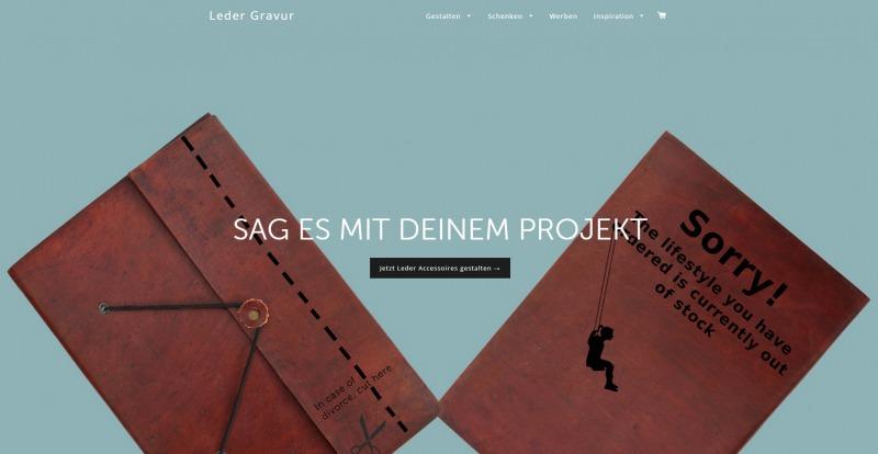 Leder Gravur - Personalisierte Geschenke mit Charackter - StartupBrett