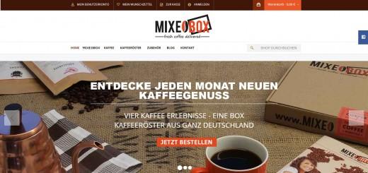 MIXEOBOX - fresh coffee delivered - StartupBrett