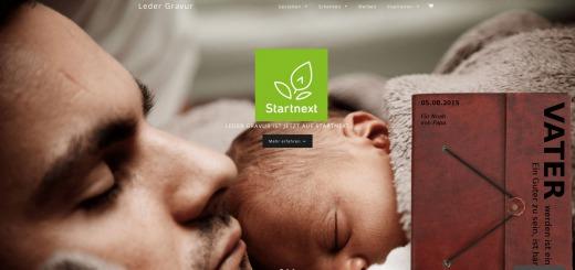 Leder Gravur - StartupBrett