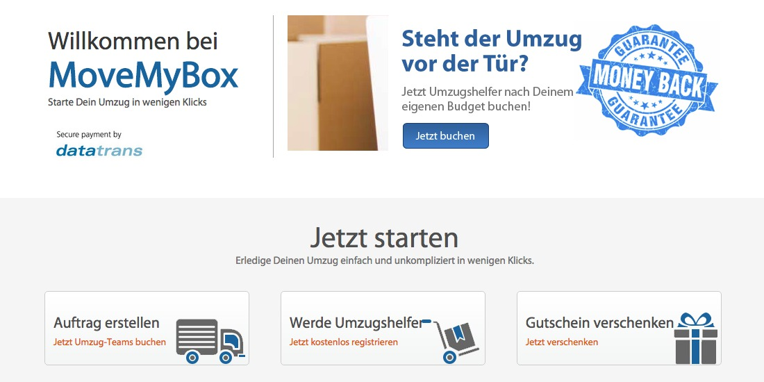 MoveMyBox - StartupBrett