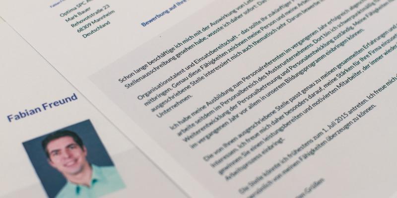 Bewerbungsschreiben – auf den Einstieg kommt es an - StartupBrett