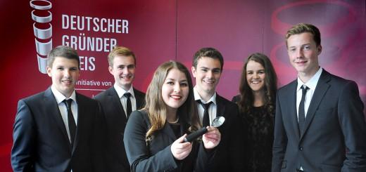 Schüler als Chef - Deutscher Gründerpreis für Schüler