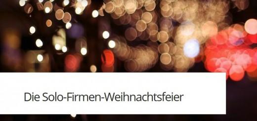 Die Solo-Firmen-Weihnachtsfeier in Berlin am 9.12.2015-Meeet