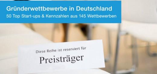 Gründerwettbewerbe in Deutschland: Publikation von Für-Gründer.de gibt Überblick - StartupBrett