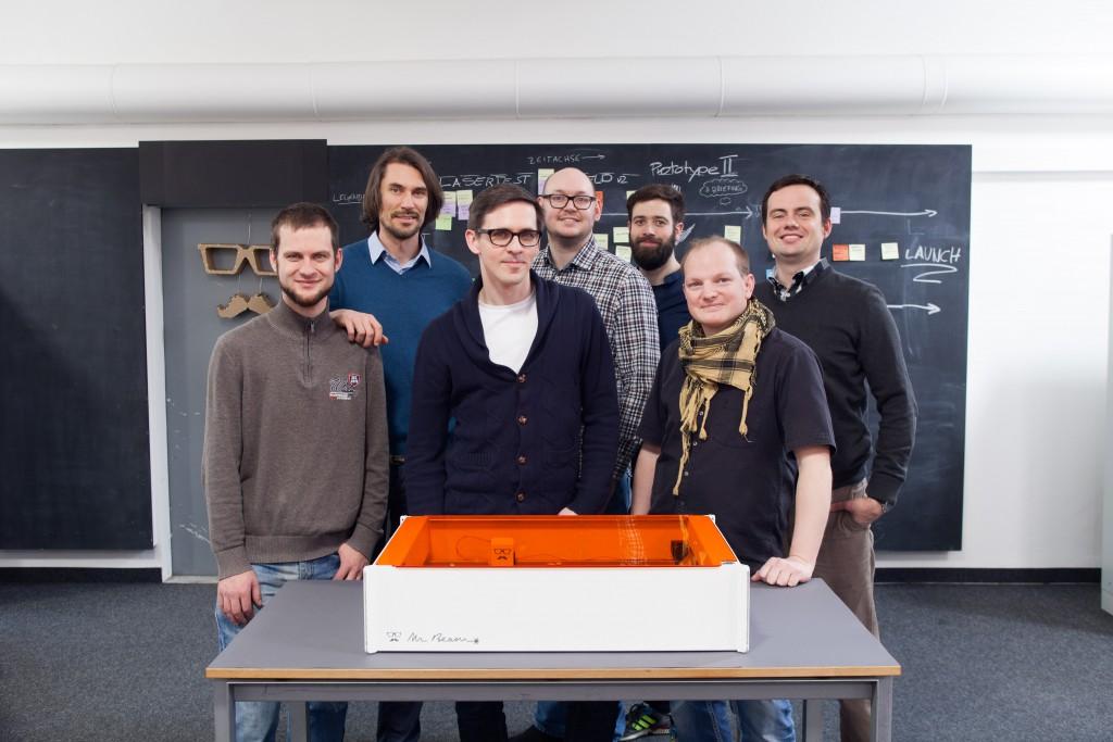 MrBeam Team - 3 interessante Kickstarter-Kampagnen, die man gesehen haben muss