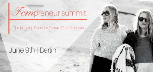 Fempreneur Summit am 9. Juni 2016 in Berlin