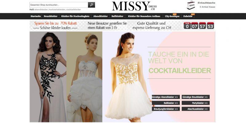 Missy Dress Schweiz