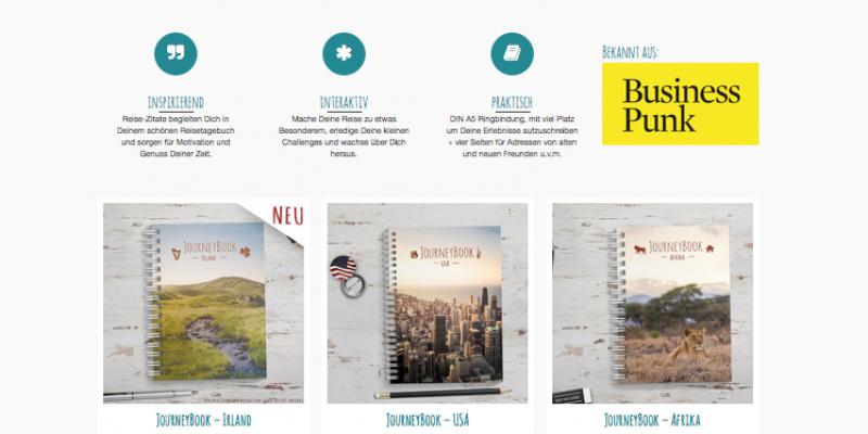 JourneyBook - Reisetagebücher