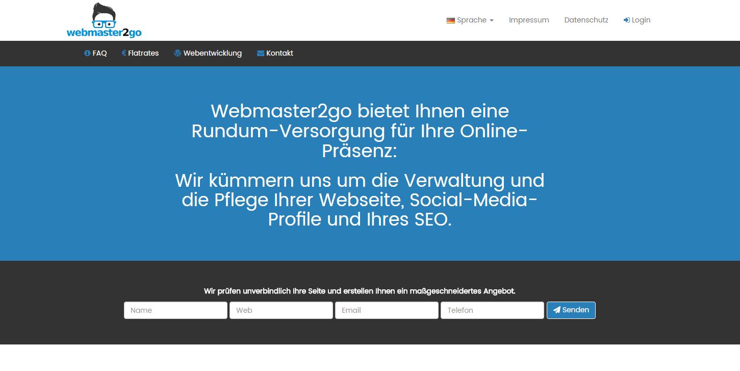 webmaster2go