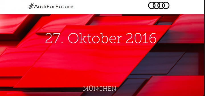 "Wir bringen Dich zum ""CEO meets Start-up""-Dinner bei der #AudiForFuture"