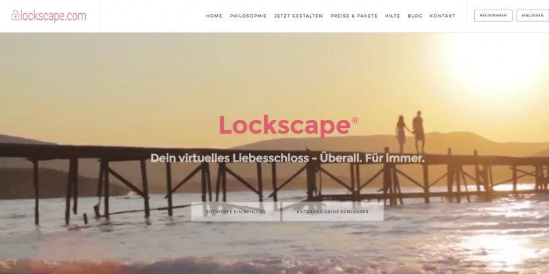 Lockscape - Liebesschlösser - StartupBrett