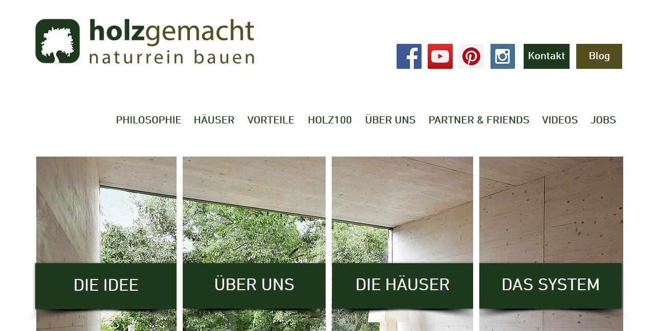 holzgemacht-naturrein bauen GmbH