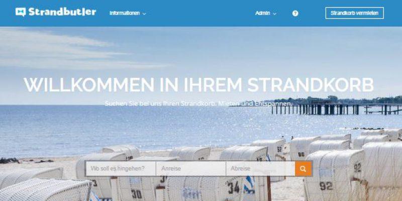 Strandbutler - Buchungsplattform für Strandkörbe