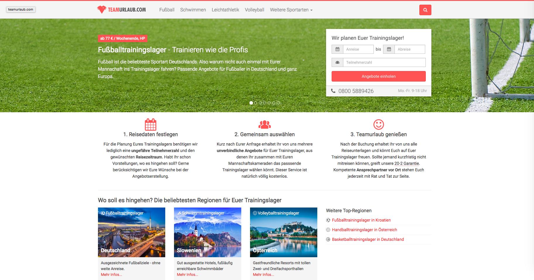 teamurlaub.com