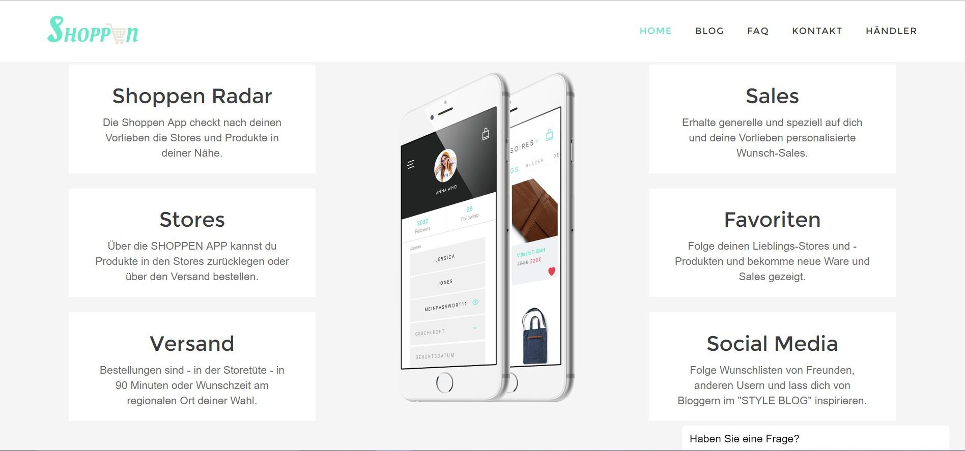 Shoppen App