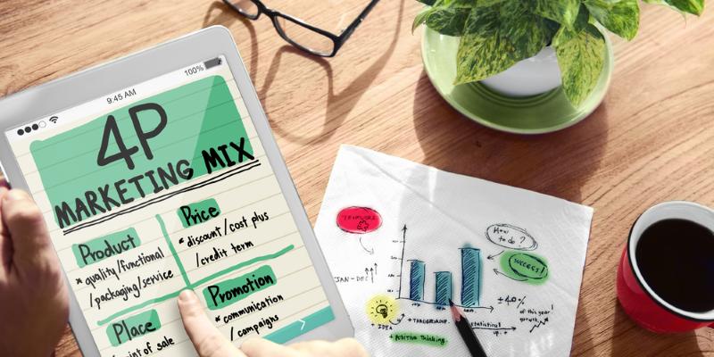 Marketing Mix – die 4 Ps zum Unternehmenserfolg!