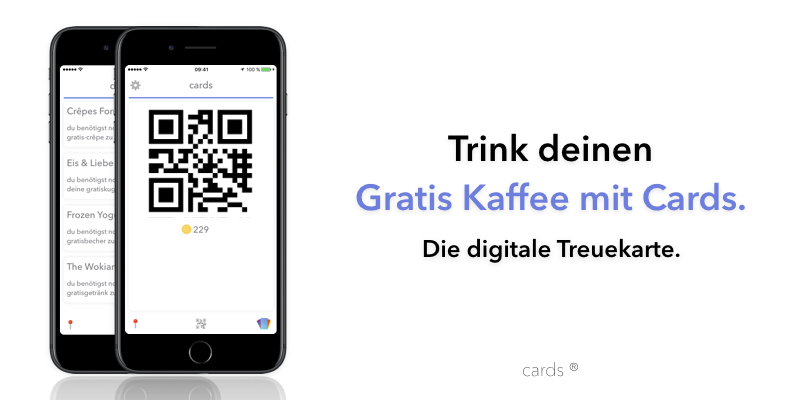 Cards – Die digitale Treuekarte