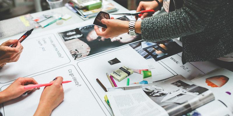 Designmanagement für Flyer und Broschüren