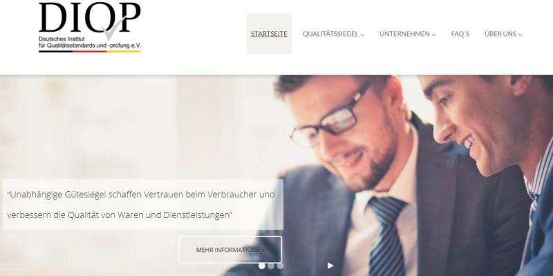 DIQP Deutsches Institut für Qualitätsstandards und -prüfung