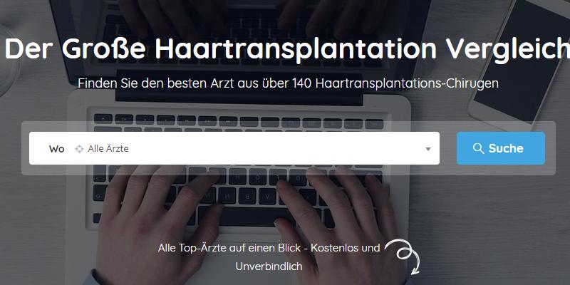Haartransplantation-Vergleich.de