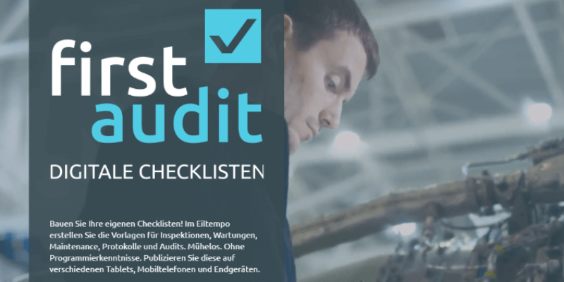 firstaudit – Digitale Checklisten App