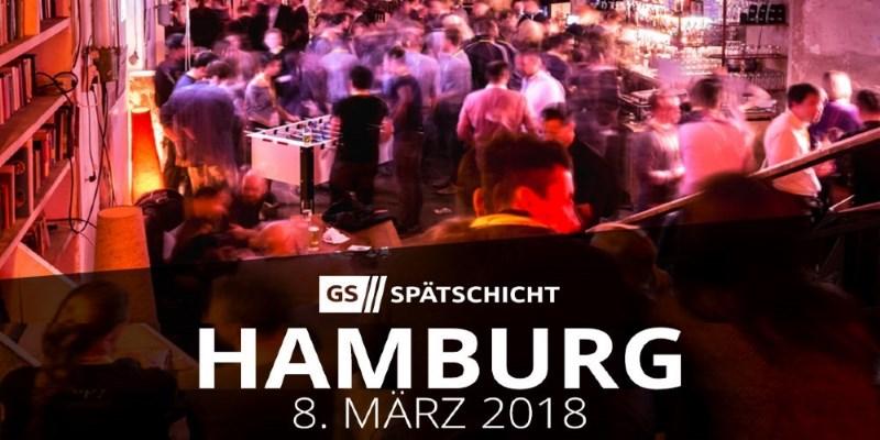 Gründerszene Spätschicht Hamburg am 08.03.2018