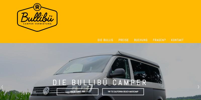 Bullibü – Campervermietung