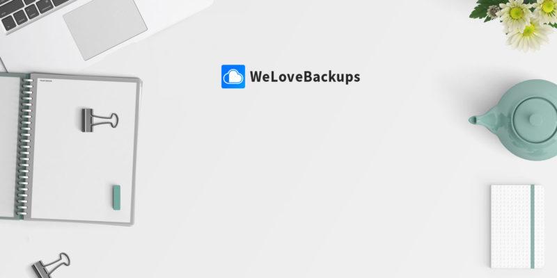 WeLoveBackups – Online Backup