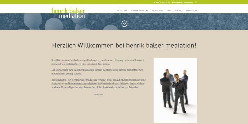 Henrik Balser Mediation