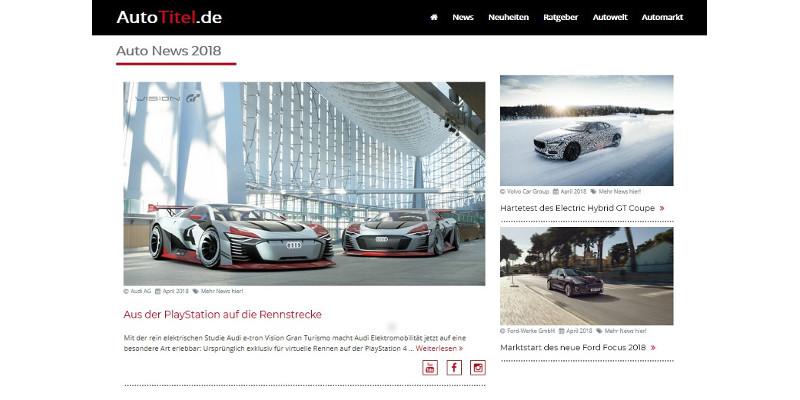 AutoTitel.de – Dein mobiles Automagazin