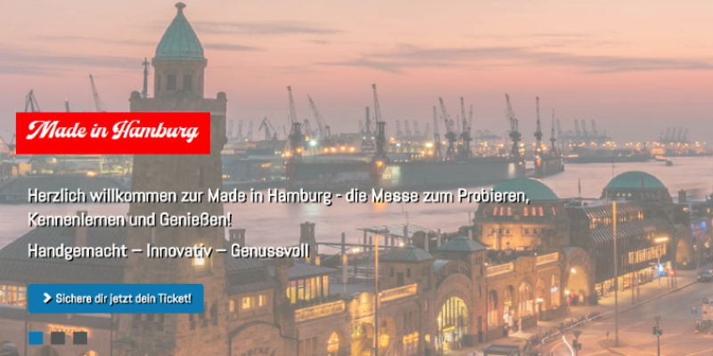 Made in Hamburg vom 17. & 18. November 2018