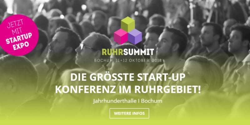 RuhrSummit 2018 in Bochum