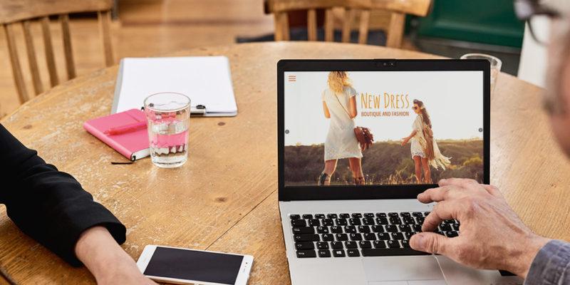Sichtbare Start-ups: Mit wenigen Klicks zur eigenen Homepage
