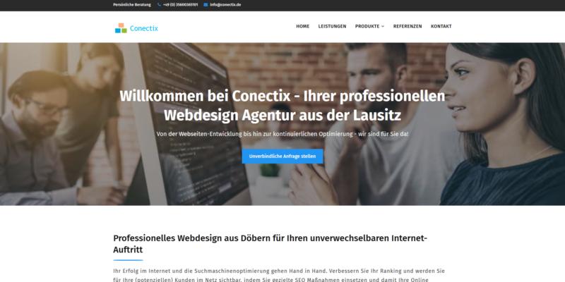 Webdesign Agentur Conectix