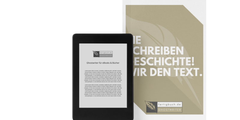 Fertigbuch.de Ghostwriter
