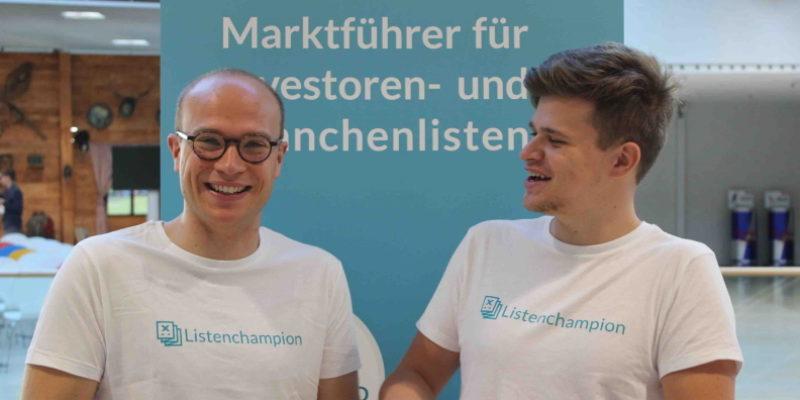 Interview mit Listenchampion: Vom Startup zum Marktführer für Branchenlisten zum Herunterladen