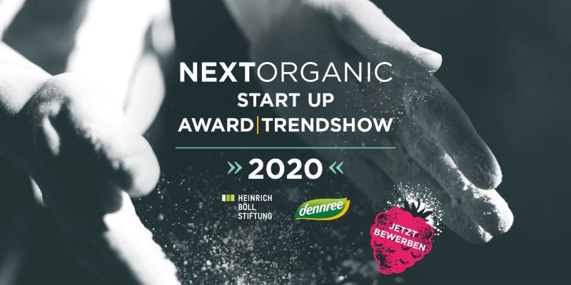 Next Organic Startup Award 2020