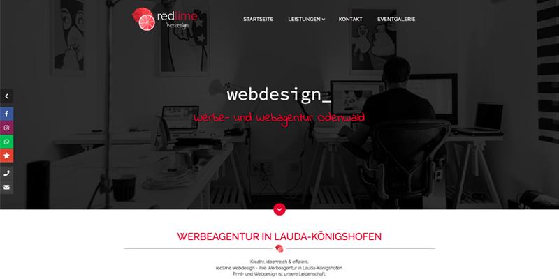 redlime webdesign   Werbeagentur