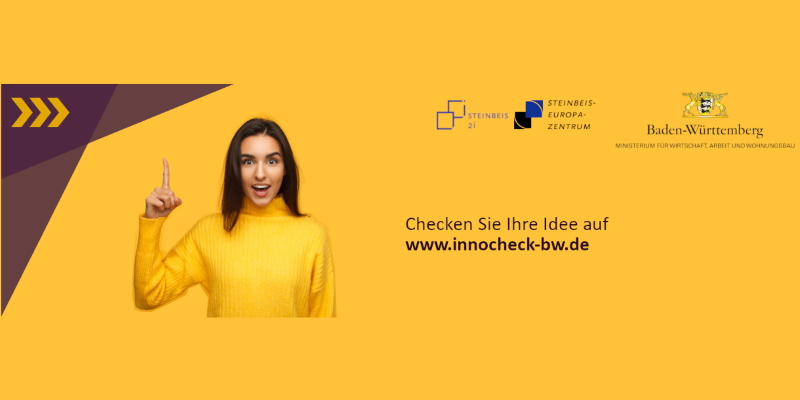 innocheck-bw: Beratung zu europäischer Innovationsförderung