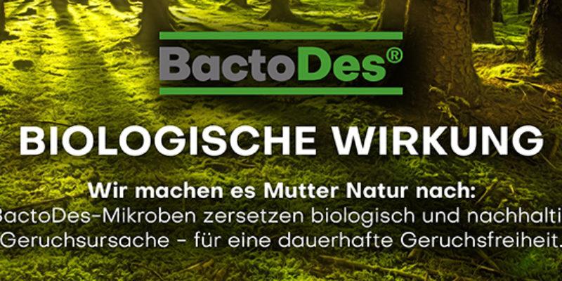 BactoDes ® Geruchsbeseitigung – Natürlich schlechte Gerüche entfernen